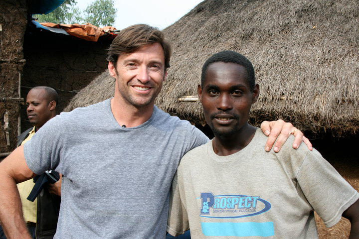 Hugh Jackman and Dukale