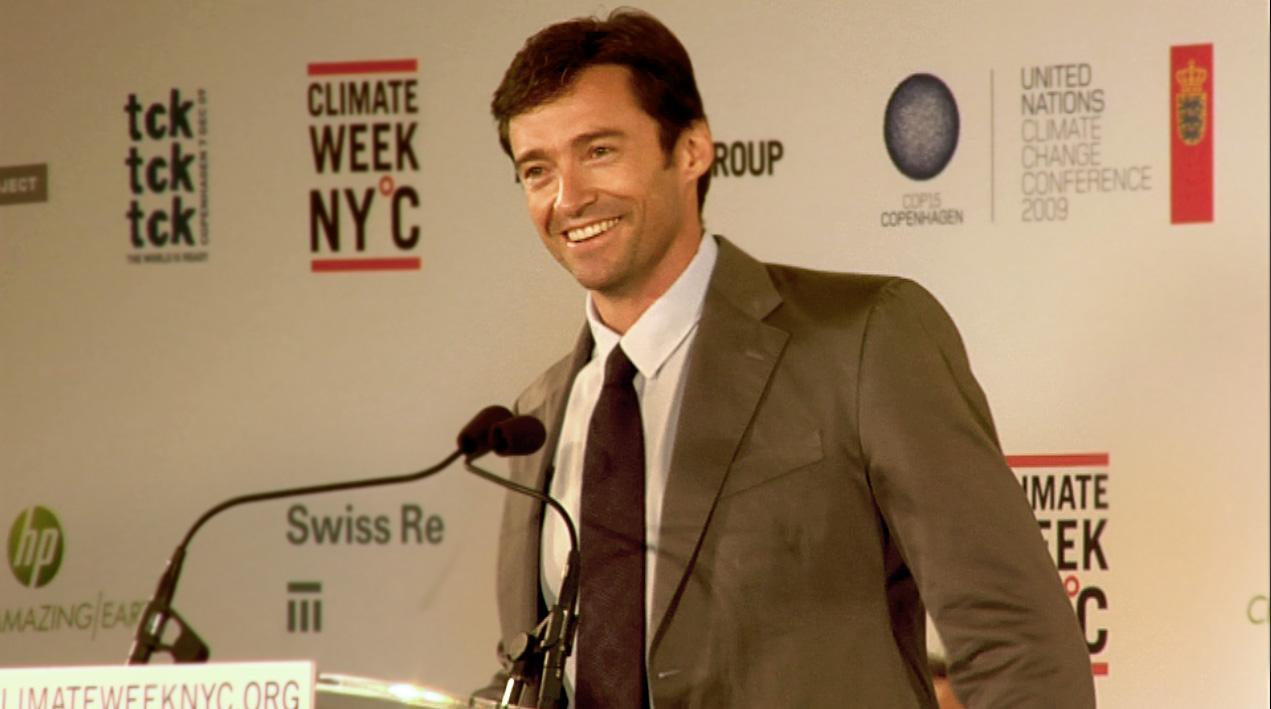Hugh Jackman UN Climate Week